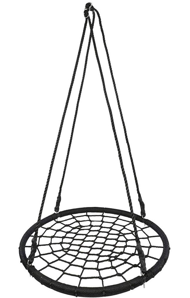 hoga joy rundschaukel nestschaukel 100 cm 200kg gf2. Black Bedroom Furniture Sets. Home Design Ideas