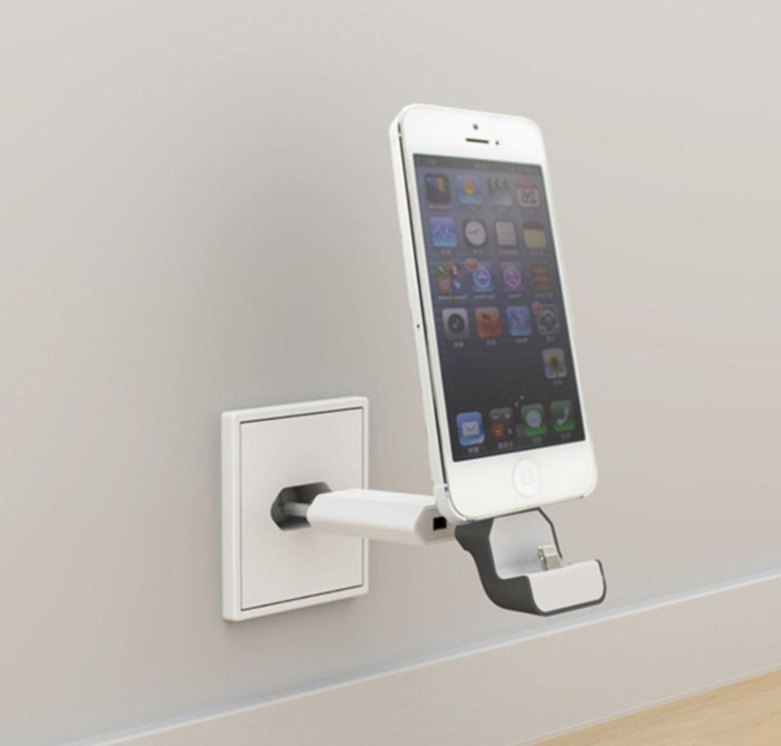 totalcase dockingstation compact wand iphone 5 5s 6 6s se ladestation netzteil ec0074. Black Bedroom Furniture Sets. Home Design Ideas